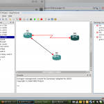 Interconnected routers in GNS3