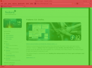 Firefox wit extended viewport